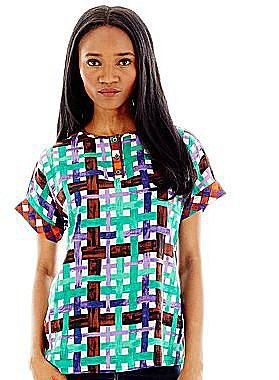 Duro Olowu for jcp T-Shirt Blouse