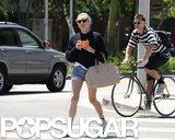 Diane Kruger grabbed yogurt in LA.