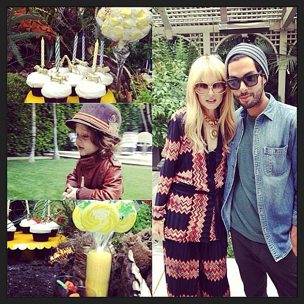 Skyler Berman celebrated his second birthday with a jungle-themed party. Source: Instagram user rachelzoe