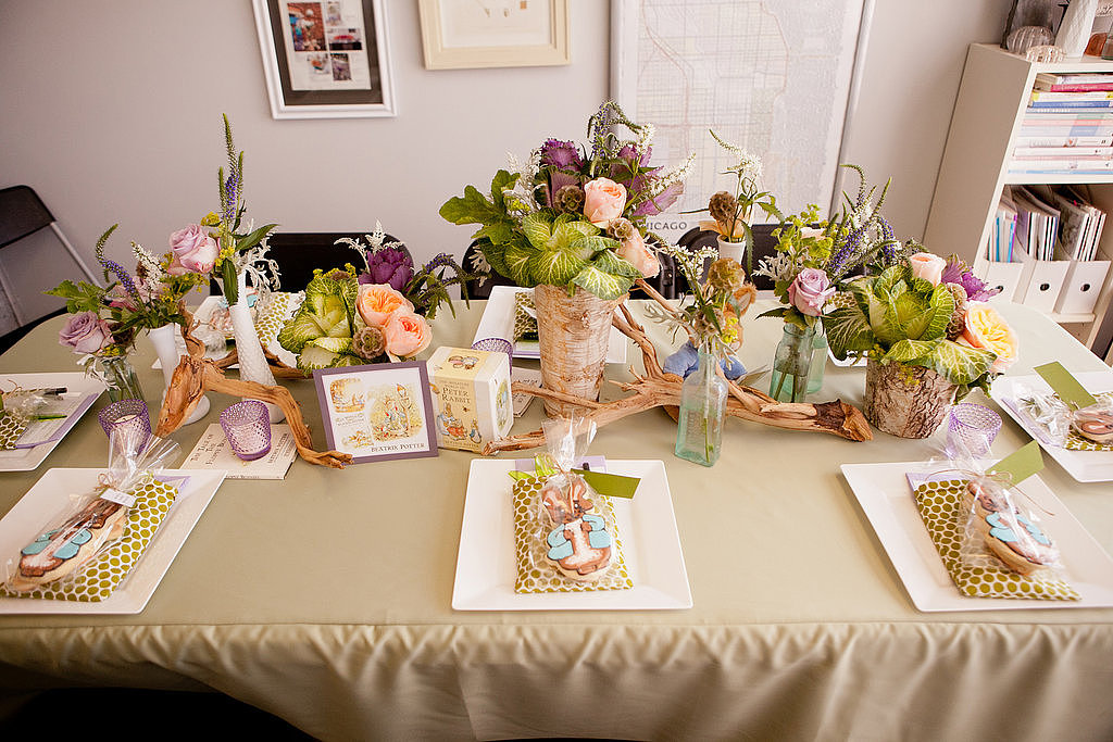 A Beatrix Potter Table