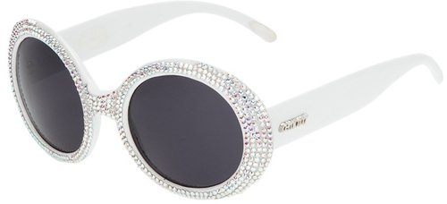 A-Morir 'Bleach' embellished sunglasses