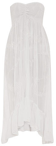 Cool Change Petite lotus sweetheart maxi dress