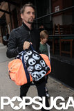 Matthew Bellamy and Ryder Robinson hit the pavement in NYC.