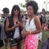 Kelly Rowland and Solange Knowles did not disappoint with their Coachella style.