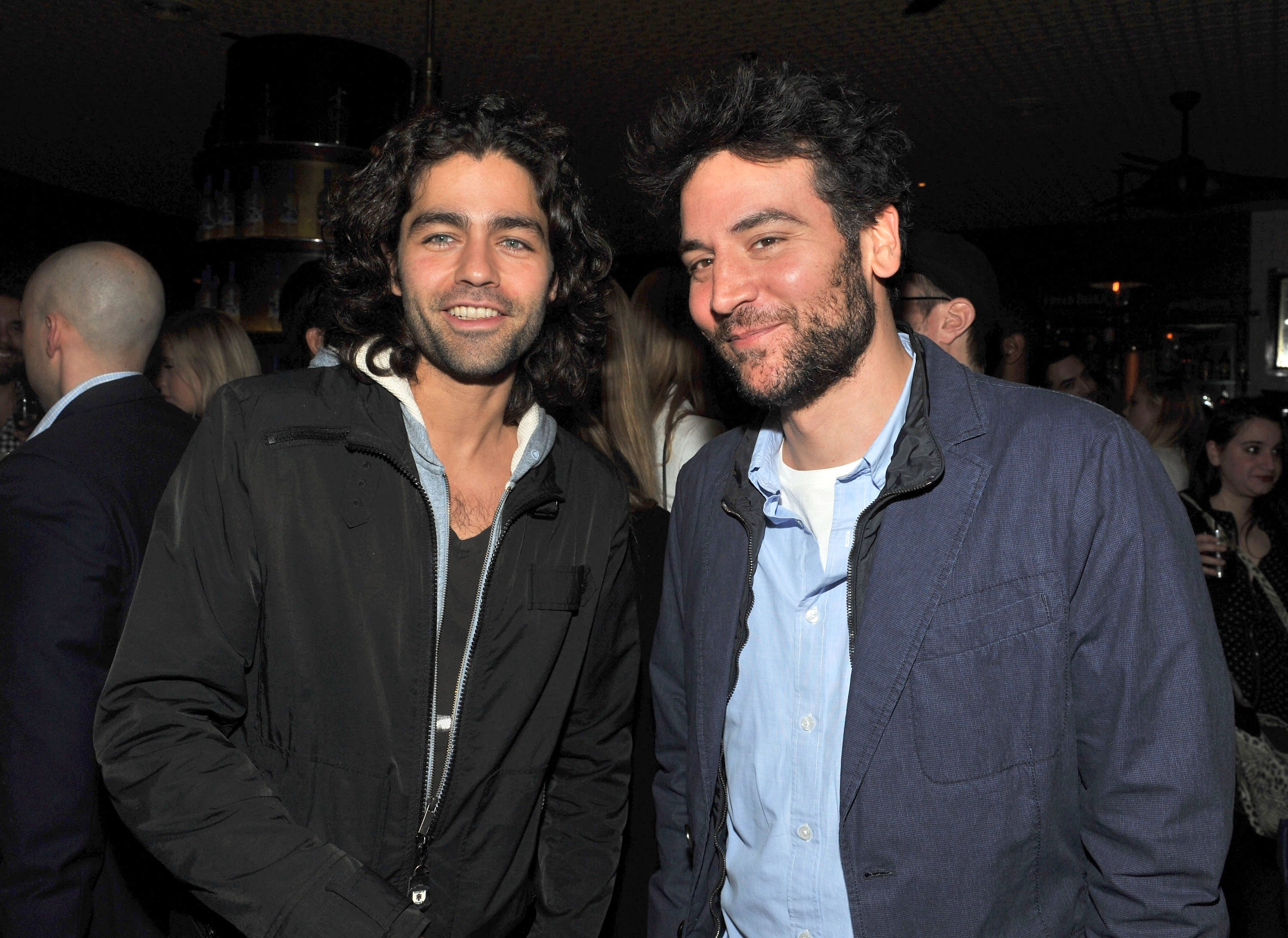 Adrian Grenier and Josh Radnor teamed up for the screening of At Any Price.