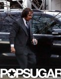 Christian Bale continued work on David O. Russell's American Hustle on Thursday in Boston.