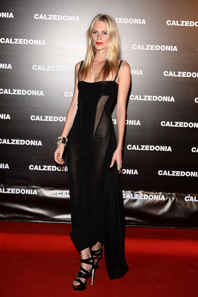 "Poppy Delevingne at the Calzedonia ""Forever Together"" show in Rimini, Italy."