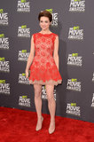 Crystal Reed at the MTV Movie Awards in Los Angeles.