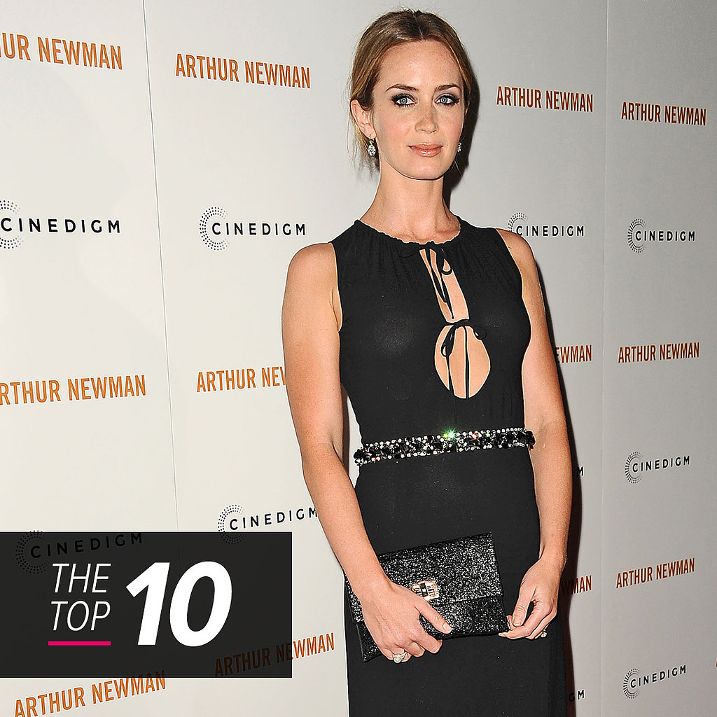 Emily Blunt Tops Off This Week's Most Glamorous Celebrity Crowd