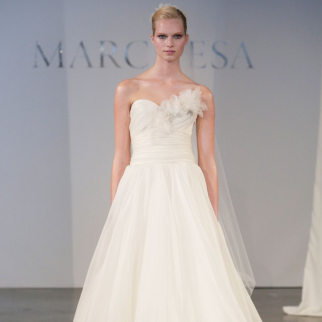 Bridal Fashion Week Spring 2014 Runway & Pictures: Marchesa