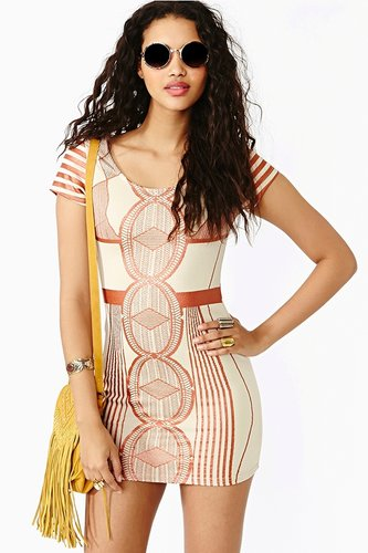 Deep Geometry Dress