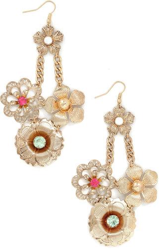 Fancy Flourish Earrings
