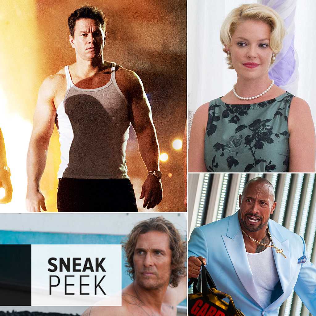 Movie Sneak Peek: Pain & Gain, The Big Wedding, and Mud