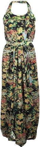 Kenzo Printed wrap jumpsuit