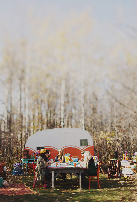 Campout Photo by Simply Rosie via 100 Layer Cake