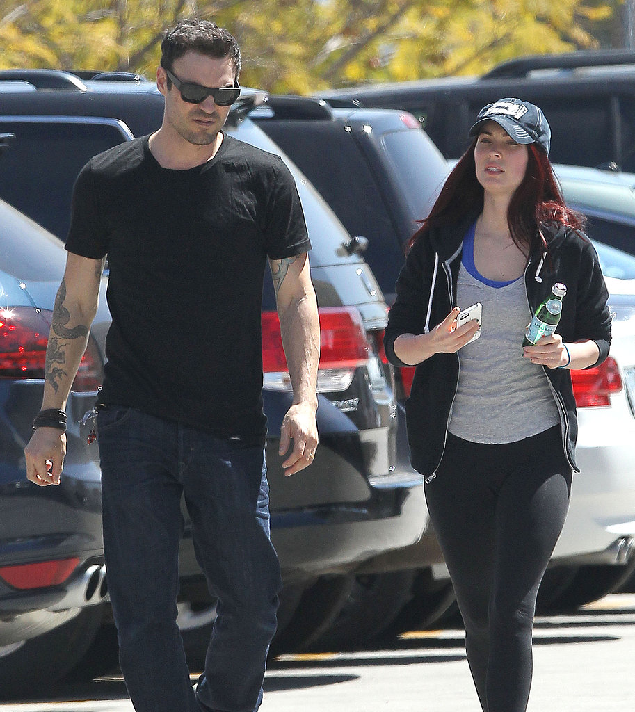 Megan Fox Shows Off Her Red Locks For a Lunch Date With Brian