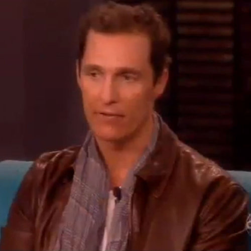 Matthew McConaughey Interview on The View 2013 | Video