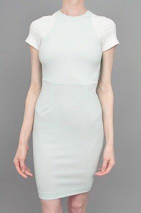 Stella McCartney Short Sleeved Color Block Dress