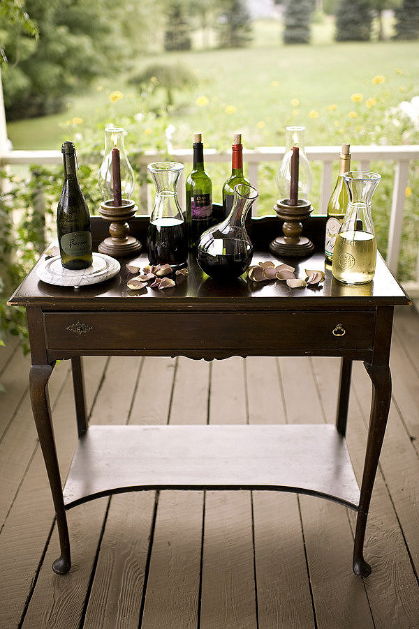 Wine Tasting Photo by Alyse French via Style Me Pretty