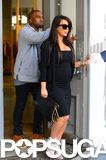 Kim Kardashian and Kanye West Reunite For an NYC Shopping Trip