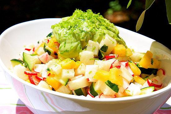 Jicama and Radish Salad