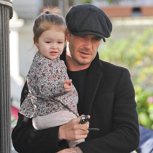 David Beckham and Daughter Harper | Photos