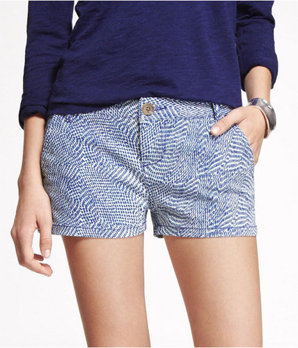 """2"""" Printed Trouser Shorts"""