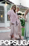 Jessica Simpson was one of multiple maids at a pal's Beverly Hills nuptials in October 2004.