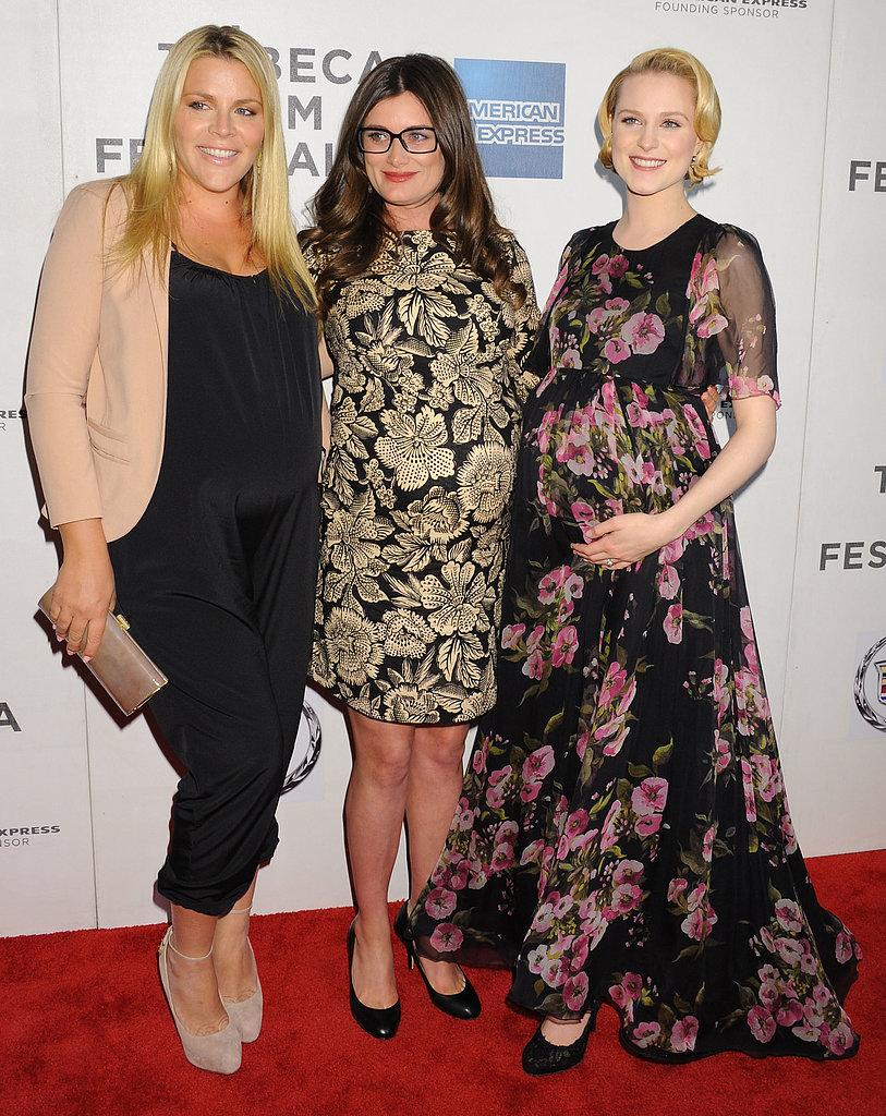 Busy Philipps, Kat Coiro, and Evan Rachel Wood joined baby bumps at the premiere of A Case of You at the Tribeca Film Festival.