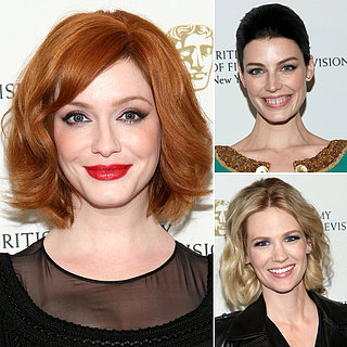 Christina Hendricks Smoky Eye