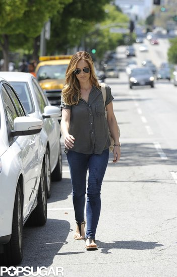 Minka Kelly had a casual outing in LA on Monday.