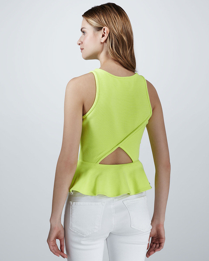 Your perfect wear-to-any-Spring-party top, in the form of this Dolce Vita Ponte Peplum Top ($154).