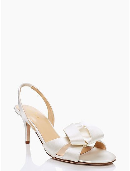 Kate Spade's Madison Heels ($298) are a classic wedding shoe, and the mid-heel height makes them a perfect choice for wearing all night long.