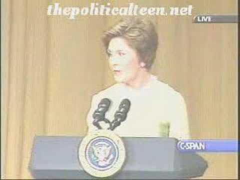 Laura Bush Calls Herself a Desperate Housewife