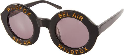 Wildfox Bel Air Round Sunglasses