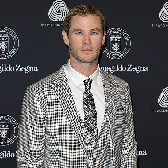 Chris Hemsworth, Megan Gale at Zegna Wool Awards Pictures