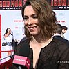 Rebecca Hall Interview at Iron Man 3 Premiere (Video)