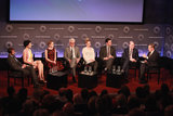 The cast sat down with Brian Williams for the panel.