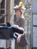 Kate Winslet Wears Dramatic Costumes on Her Chaotic Set