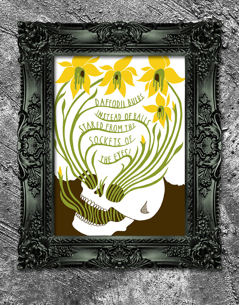 """Whispers of Immortality"" by T.S. Eliot ($40) inspired this print."