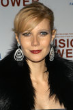 To host the 2003 Music Is Power event, Gwyneth went for full-on glamour. Deep red lips, extralong lashes, and sideswept bangs brought plenty of sex appeal.