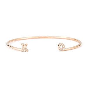 Dana Rebecca Designs Diamond Initial Cuff