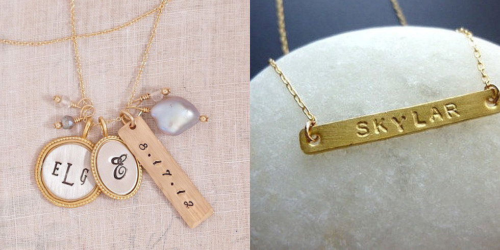 Get the Look: Personalized Jewelry For Proud Mamas