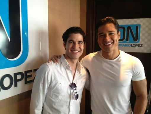 Mario Lopez interviewed Glee&#0