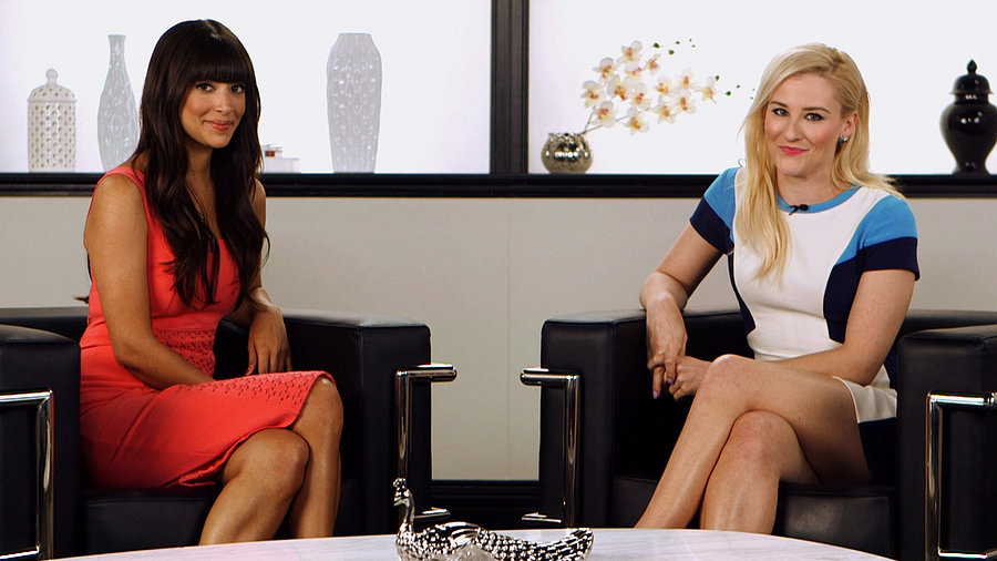 """Hannah Simone on Her """"Bizarre"""" New Girl Wedding and Taylor Swift's Guest Appearance"""