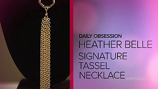 Heather Belle Tassel Necklace | Video