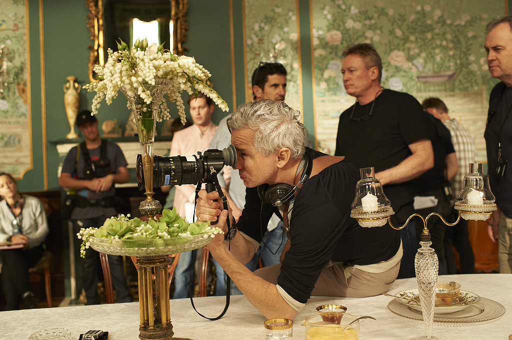 Director Baz Luhrmann on the set of The Great Gatsby.