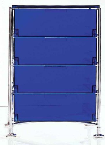 Kartell - Mobil Storage Container with Feet