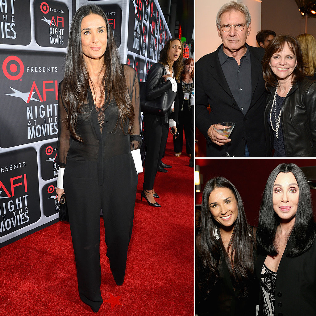 Demi Moore Chats Movies With Hollywood Legends