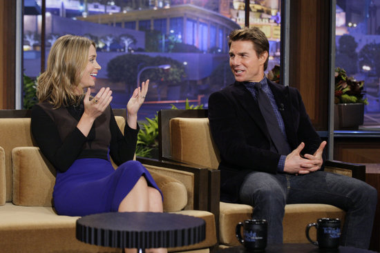 Emily Blunt and Tom Cruise Team Up on The Tonight Show
